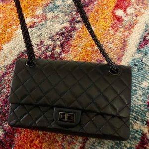 Chanel 2.55 reissue so black.